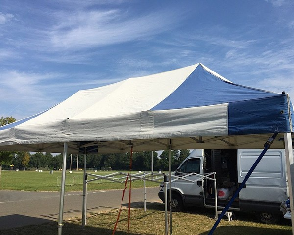 Trade Stand Marquee, Industrial Heavy Duty Frame