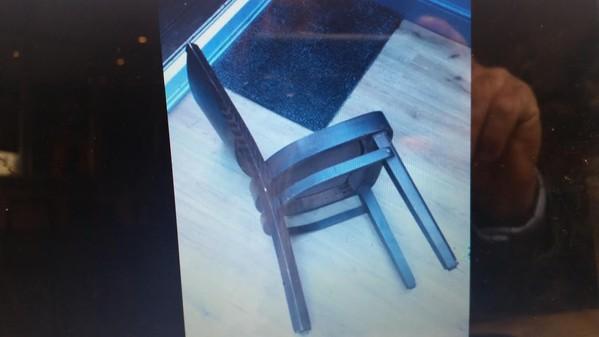 Dark wooden Chair
