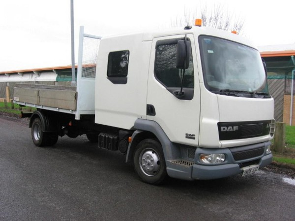 Leyland Daf Lf 45 150 Crewcab Roll On Roll Off Hookloader - Preston, Lancashire