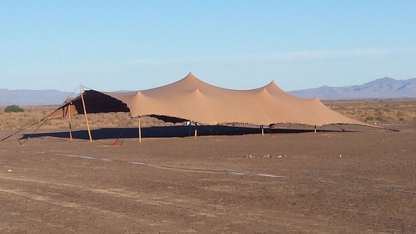Stretch marquee or tent for sale