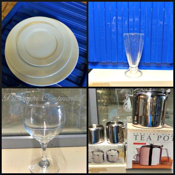 Crockery Cutlery/Glassware Stainless Steel