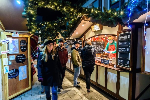 Luxury Christmas Market Huts