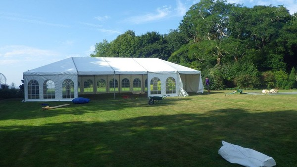 9m Gable Hip End for Hoecker Marquee