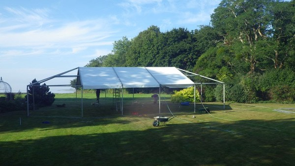 9m Gable Hip End (Hex End) for Hoecker Marquee