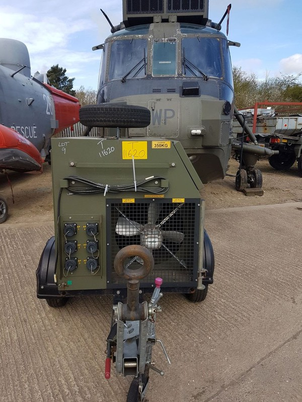 Ex-MOD Durable Mounted Restive Load Bank