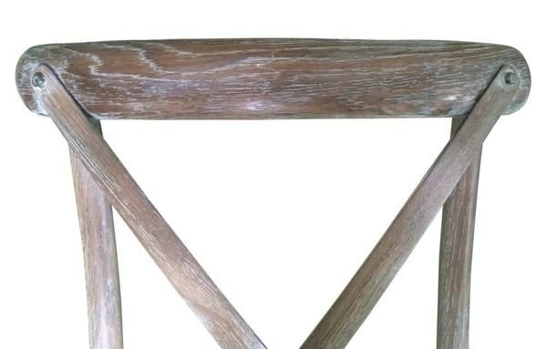 Wedding Cross Back Rustic Chair