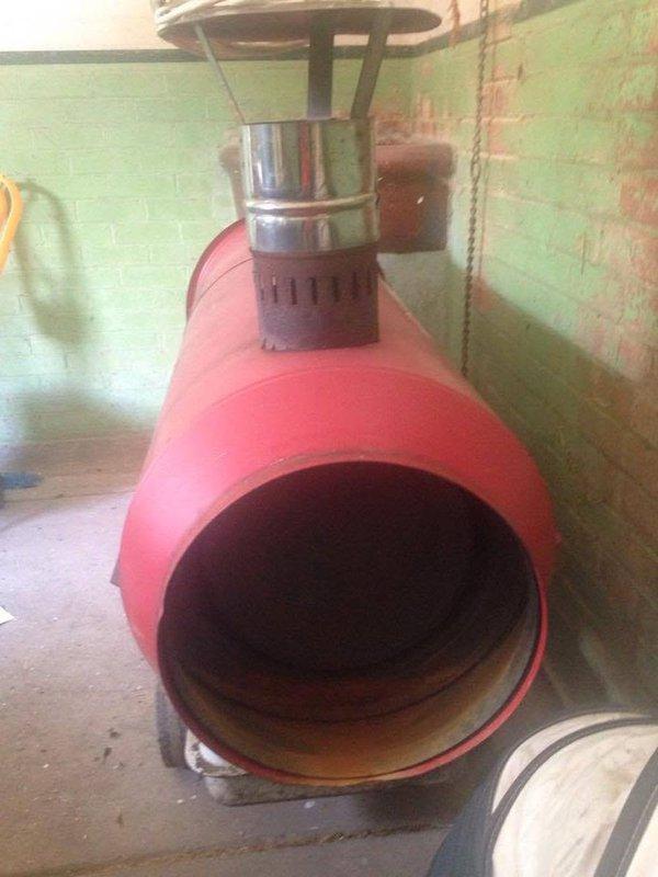 second hand diesel marquee heater