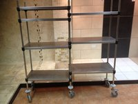 7 Shelf Double Wheeled Trolley - Walthamstow, London