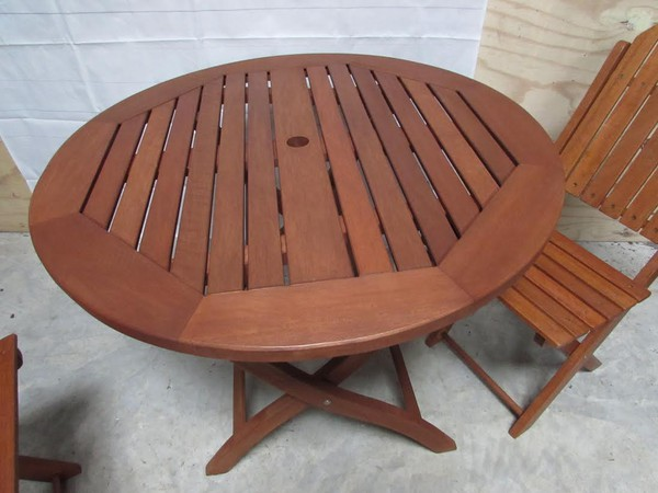 Commercial Grade Quality Folding Hardwood Bistro Tables