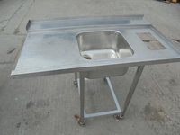 Stainless Steel Single Dishwasher Sink