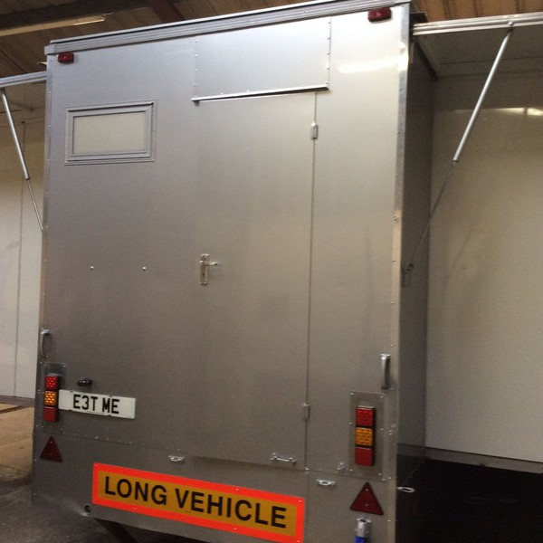 Reconditioned Classic Torton Exhibition Trailer