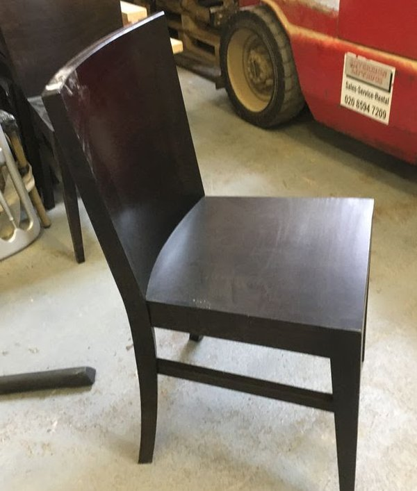 Wenge dining chair