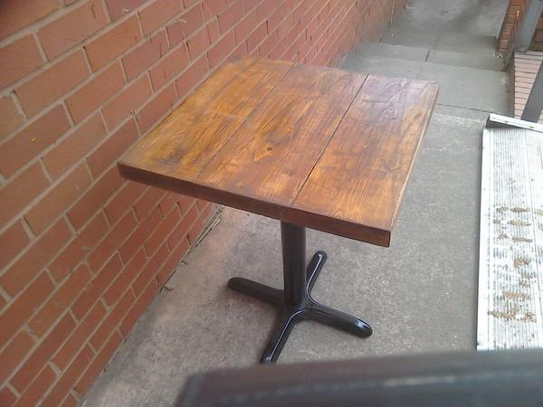 Reclaimed Scaffold Board Tables