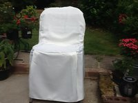Ivory chair covers for sale