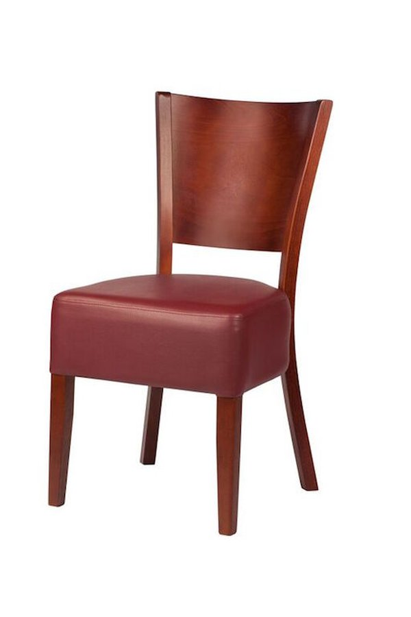 faux leather restaurant chairs