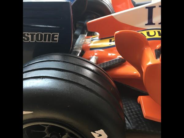 4ft Replica Scale Formula 1 Car Models