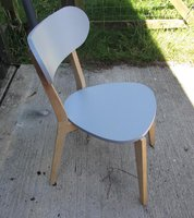 Grey Cafe / Bistro Chairs