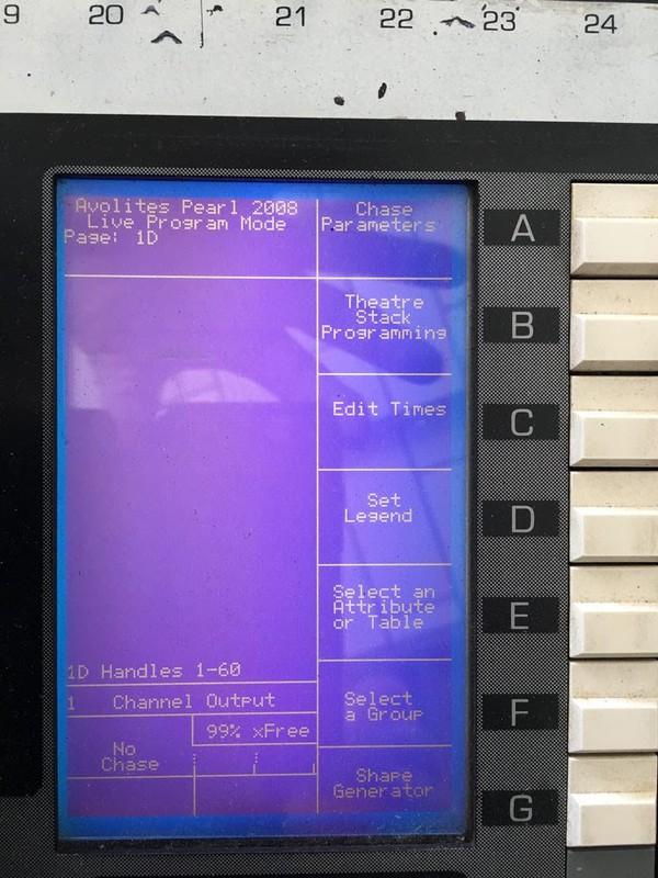 Avolites Pearl 2000 with Boris 3 USB 2008 upgrade board + Flightcase