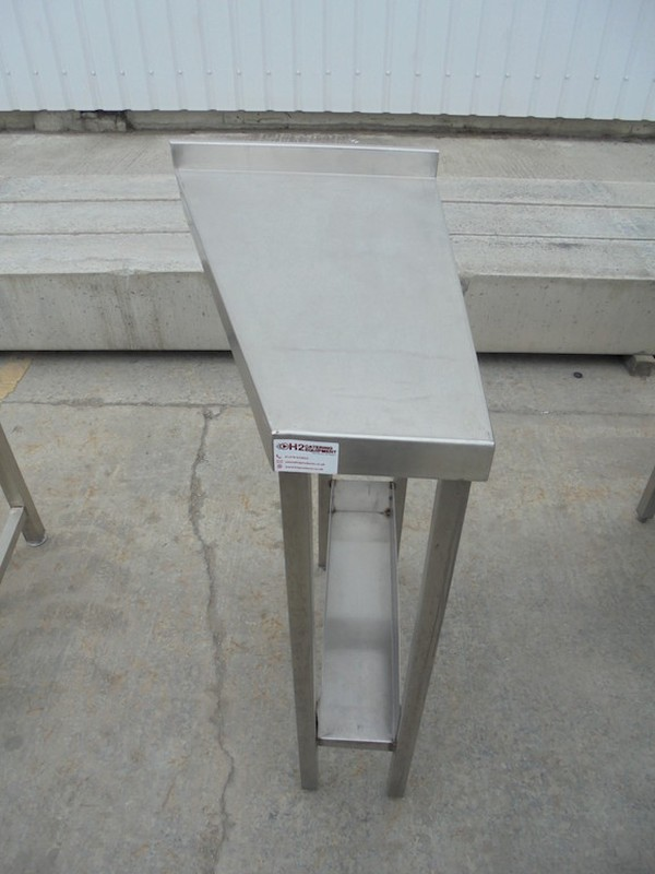 "Stainless Steel ""End"" Infil Table	(5300)"
