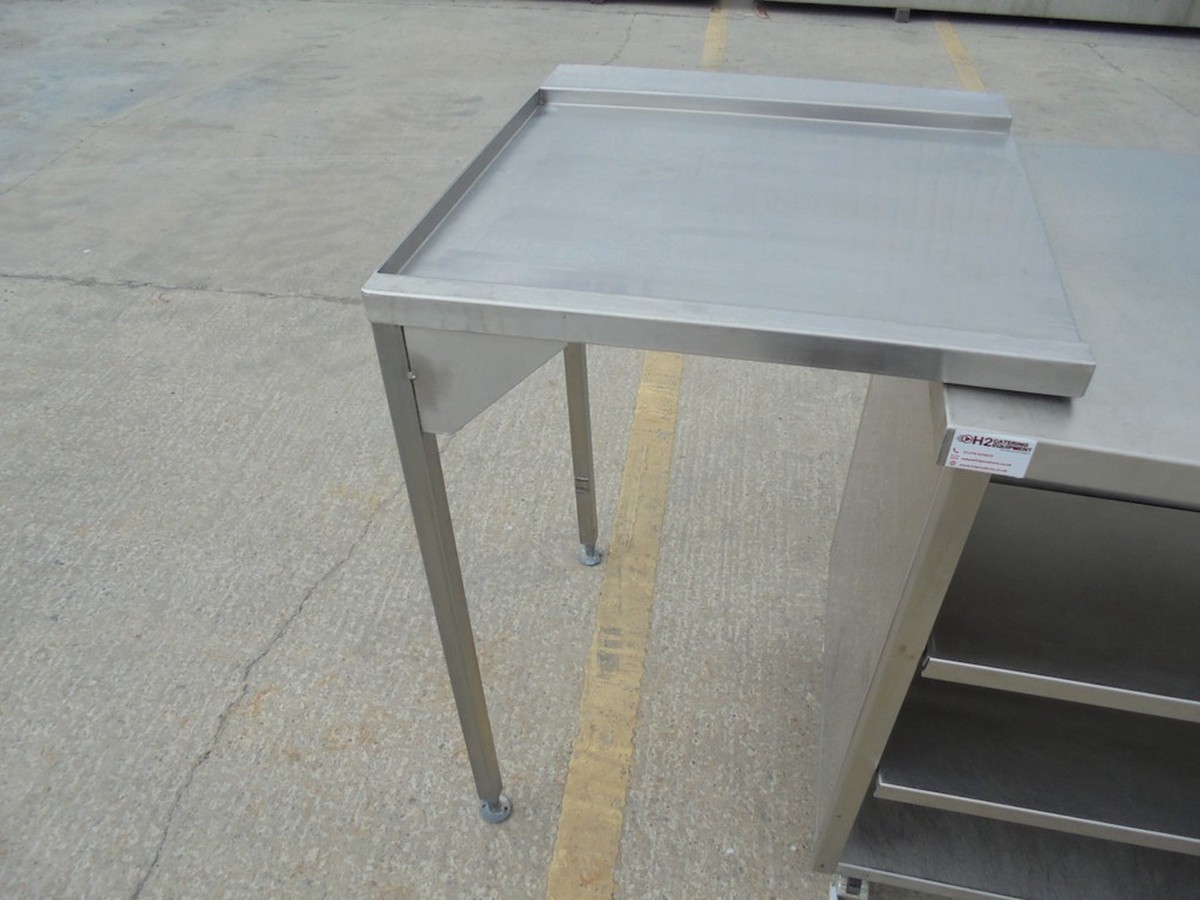 Secondhand Exhibition And Display Equipment H Products Somerset - Stainless steel dishwasher table