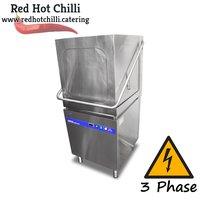 Three Phase Hurricane Pass-Through Dishwasher