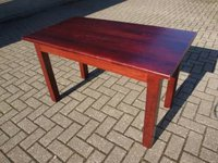 10 x Rectangular Coffee Table in Mahogany Finish