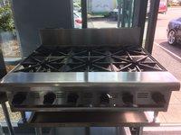 Empire 6 Burner Natural Gas Boiling Top Hob BT36CE-6N