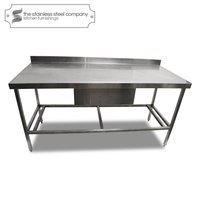 1.68m Stainless Steel Bench (Ref:SS87)