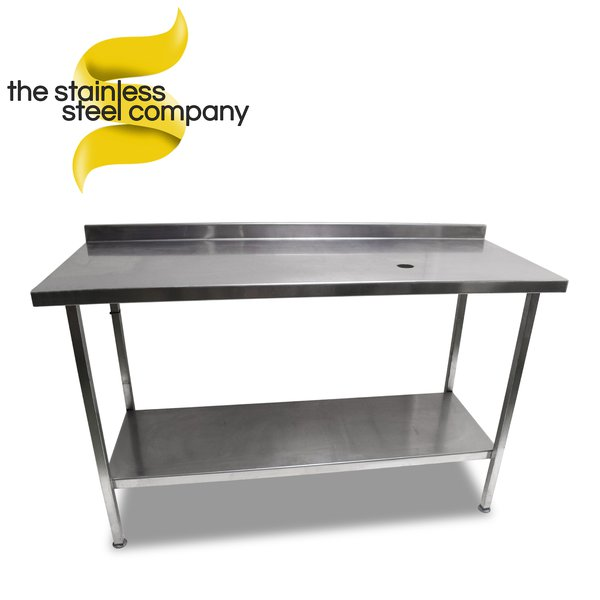 1.53m Stainless Steel Bench (Ref:SS84)