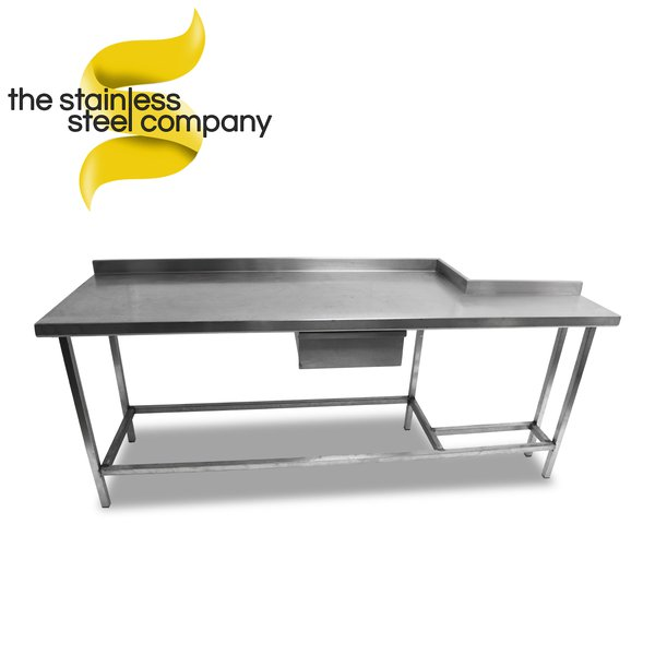 2.1m Stainless Steel Bench (Ref:SS83)