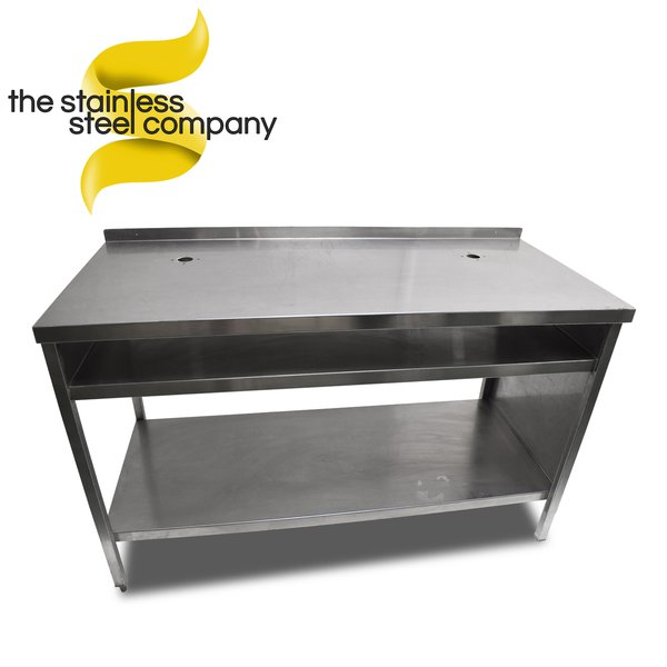 1.4m Stainless Steel Bench (Ref:SS82)