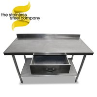 1.5m Stainless Steel Bench (Ref:SS79)