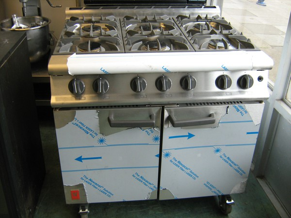 Falcon G3101 Dominator plus 6 Burner LPG