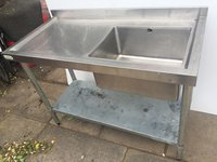 Used Stainless Steel Sink