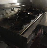 Chinese 9 ring wok cooker