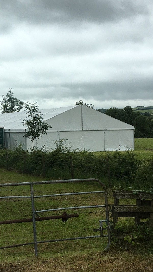 12x30m Clearspan Full Marquee