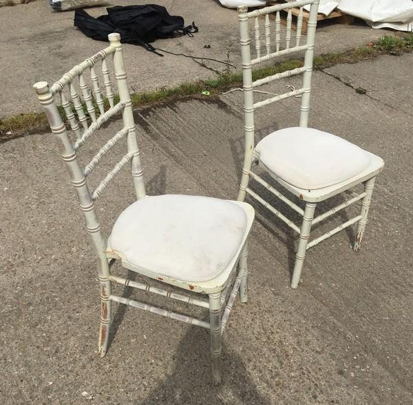 Limewash Effect Chiavari Chair