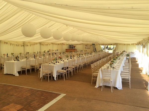 12m x 27m Tectronics framed marquee