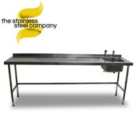 2.4m Stainless Steel Sink (Ref:SS54)