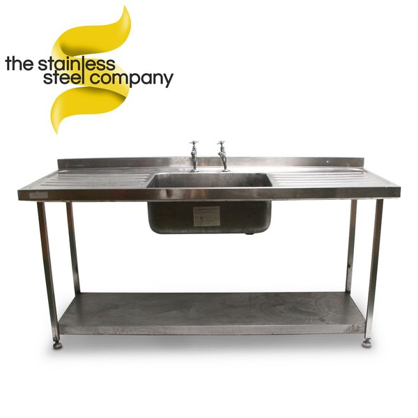 1.8m Stainless Steel Sink (Ref:SS21)