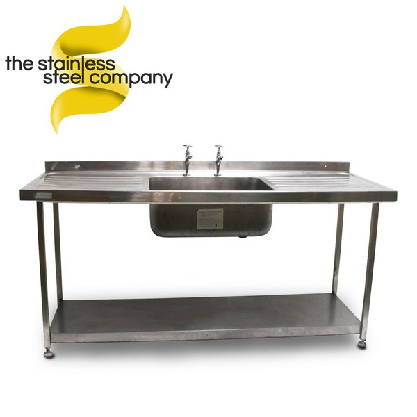 1.8m Stainless Steel Sink (Ref:SS18)