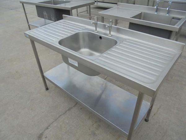 Stainless Steel Sissons Single Sink (5332)