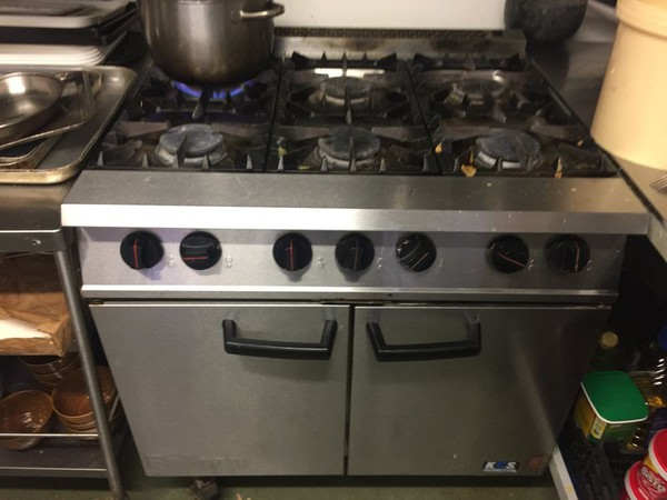 Falcon Dominator Gas 6 Burner