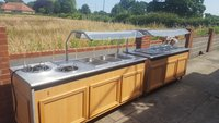 Pair of Carvery / Hot Plate / Hot Cupboard / Heated Gantry
