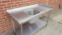 Freestanding Single Bowl Sink