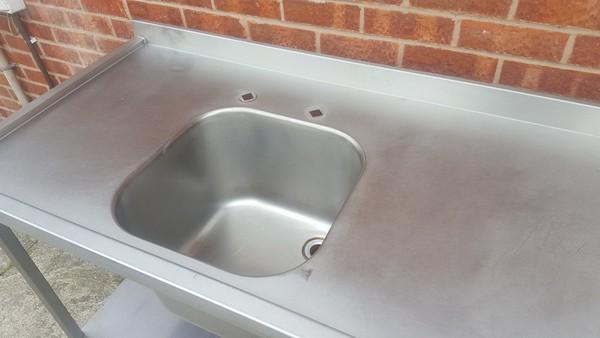 Freestanding Single Bowl Sink