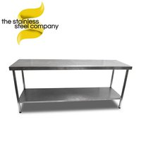 2m Stainless Steel Bench (Ref:SS144)