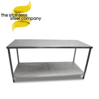 1.79m Stainless Steel Bench (Ref:SS140)