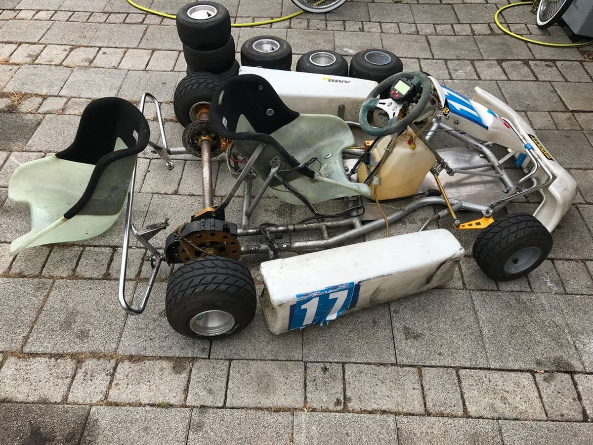 Secondhand-Karting.co.uk | Rolling Chassis | Zip Kart Focus Rotax Go ...