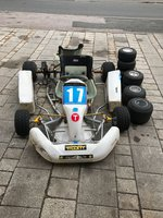 Zip Kart rolling chassis